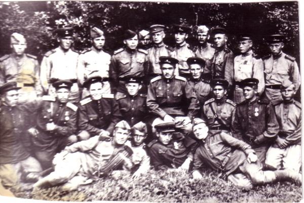 Вооружение стрелкового полка ркка